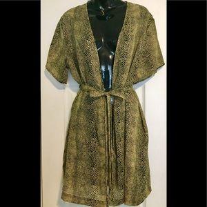 Victoria Secret Intimates Leopard robe!